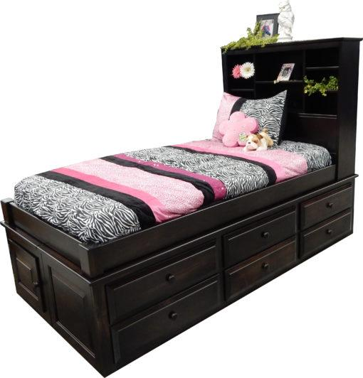 Captain S Bed Twin 6 Drawer