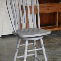 "24"" paddleback with marias gray glaze"