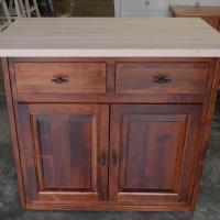 Unfinished butcher block top