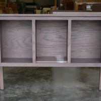 Oak with Weathered Gray stain
