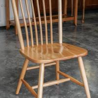 Springfield chair Rustic hickory natural