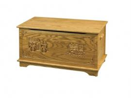 Shaker Toy Box W/Engraving